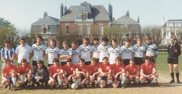 Besuch im April 1984 in Fauville (Foto im Besitz von Helmut Riedl)