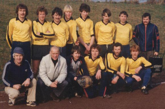 Der BSC zu Anfang der 1980er Jahre (Foto im Besitz von Helmut Riedl)