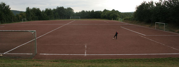 Leimersdorfer Sportplatz am 31.07.2005 (Foto: Andreas Thun)