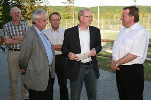 Der Kreis Ahrweiler unterstützt die Renovierung des Sportheims (Foto: Andreas Thun)