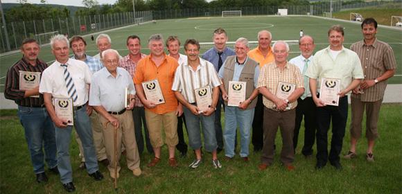 Beim 25jährigen Vereinsjubiläum gab es 18 Mitglieder, die bereits 25 Jahre im Verein sind. (Foto: Andreas Thun)