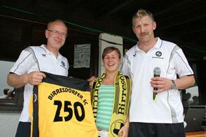 Mit Lea Drolshagen hatte der BSC 2007 sein 250. Mitglied gewonnen. (Foto: Andreas Thun)