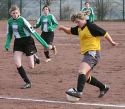 Debüt der B-Juniorinnen am 01.03.2008. (Foto: Andreas Thun)
