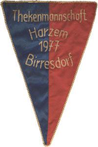 Wimpel der Thekenmannschaft (im Besitz von Gerd Harzem)